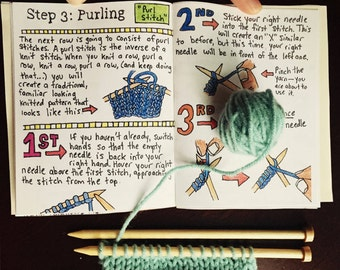 Learn to Knit Kit: An Introduction to Knitting