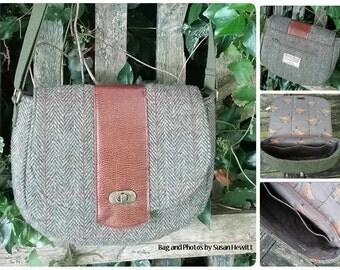 Chloe's Saddlebag Crossbody Bag ~ Now in 3 sizes ~ Crossbody Bag PDF Sewing Bag Pattern RLR Creations