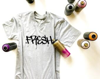 Fresh Graffiti Graphic Tee