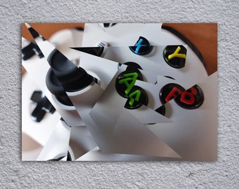 XBox Controller Framed Poster