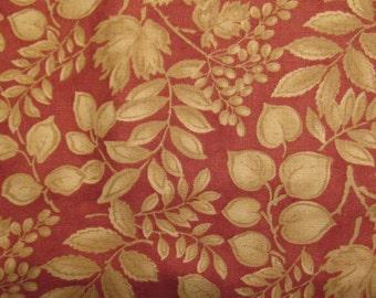 Wild Rose Blackbird Design Quilt Fabric 100% Cotton