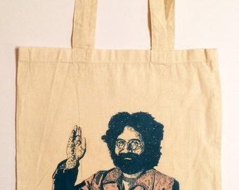 Jerry Garcia Tote Bag