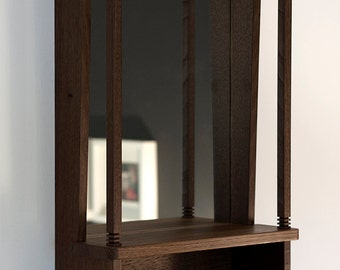 NOOK mirror shelf ~ dark