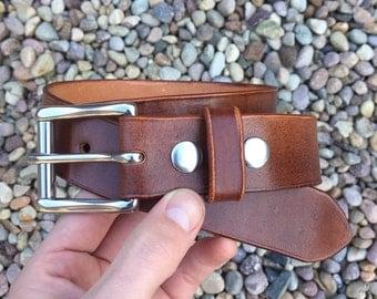 Plain Jane Handmade Leather Belt