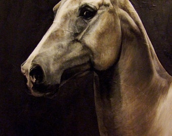 Portrait of your horse in painting!