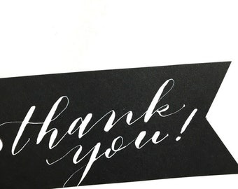 Thank You Gift Tags - Set of 8