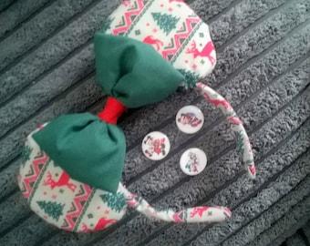 Minnie Mouse Christmas Ears