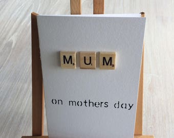Personalised Scrabble Gift Card