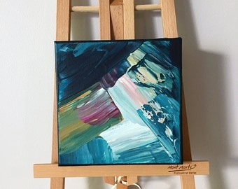 Mini Original Abstract Acrylic Painting