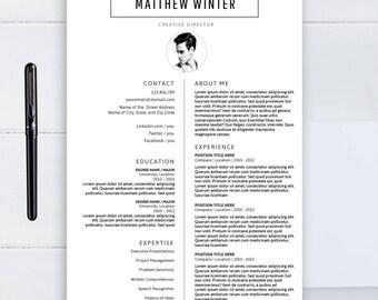 Seo Resume Word Cv Template Word  Etsy Resume Worksheets with Resident Advisor Resume Pdf Professional Resume Template Cv Template Word Template Two Pages Resume  Minimalist Resume Teller Resume Sample Word