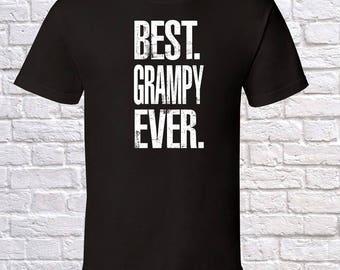 Best Grampy Ever Grandpa Gift, Grampy Birthday, father day Grampy Tshirt, Grampy Gift Idea, Baby Shower,