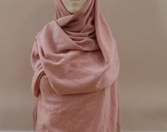 Plain Shawl (Pink)