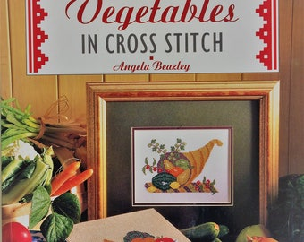 Fruit and Vegetables in Cross Stitch by Angela Beazley