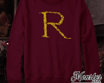 "Ron's ""R"" Crewneck Sweatshirt"