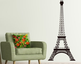 Eiffel Tower Wall Decor wall decal paris | etsy