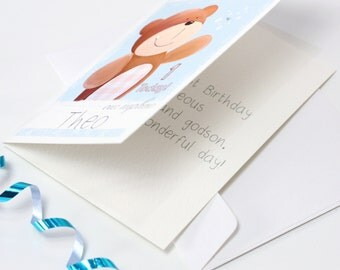 Any Liza J design Greeting Card Sent Direct to Recipient - Handwritten Card - Printed inside Card - Message Inside Card - Send Direct Card