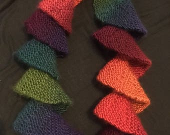 Colourful Spiral Scarf
