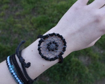 Macrame Dreamcatcher Adjustable Bracelet
