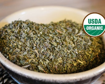 Organic Nettle Leaf, Stinging Nettle, Dried Herb, Rudy Naturals