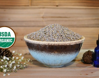 Organic Lavender, Dried Herb, Lavender Flower Buds,
