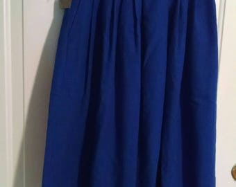 Vintage Blue Requirements Skirt with tags!