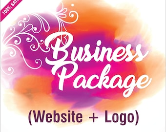 Branding Package with Website, Specialised Logo Design, Website Design, Business Branding, Wordpress Website, Professional Website