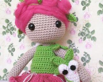 Roxy crochet doll crochet doll