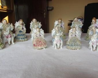 FIGURINES CAPODIMONTE style-capodimonte SPOSI-wedding gift-boy-fine china-capodimonte collectible figurines