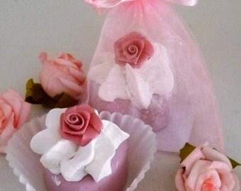 """Bathing and grooming - Badepralien """"Rose"""" in the organza bag"""