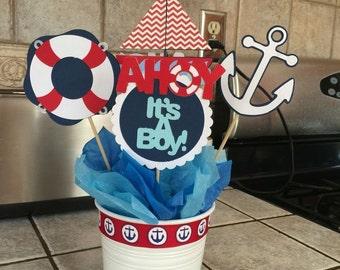 Nautical Baby Shower Cutouts