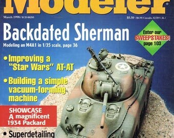 FineScale Modeler Magazine The essential tool for model  March 1998