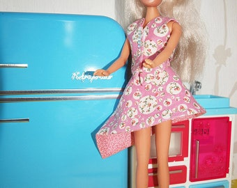 Doll Barbie Morgane and his clothes handmade