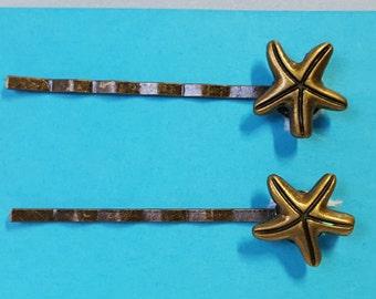 Starfish Bobby Pins