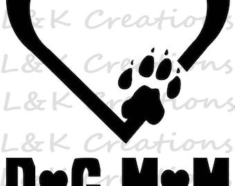"Vector Image ""Dog Mom"""