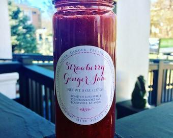 Fond's Handmade Strawberry Ginger Jam
