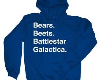 Bears Beets Battlestar Galactica Shirt The Office Hoodie Sweatshirt Shirt Dwight You Ignorant Slut Shirt Dwight Schrute Shirt Dunder Mifflin