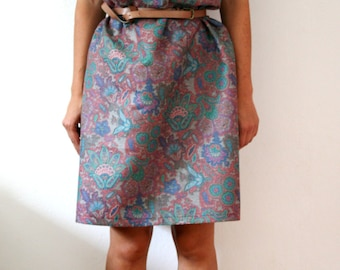 Flower dress oversize unique piece limited design