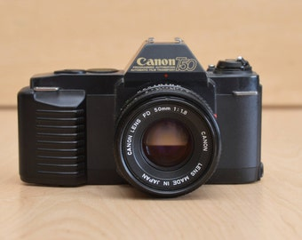 Canon T50 35mm film SLR camera