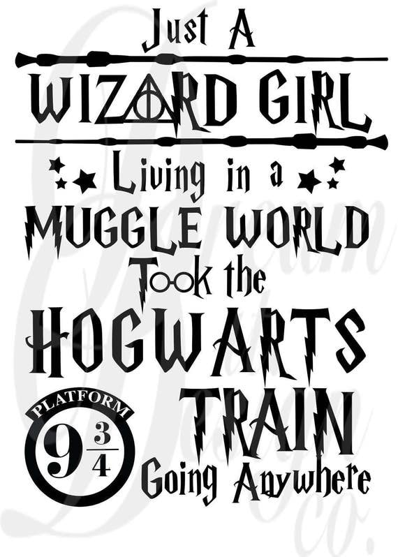 Harry Potter Quote Design for Silhouette