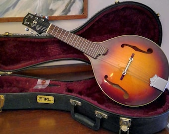 Gold Tone GM-6 Mandolin-Guitar (Mando-Guitar) 6-String Mandolin Tuned like a Guitar with TKL Hard Case