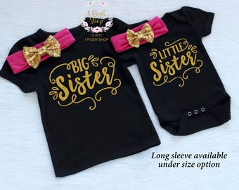 Big Sister Outfit, Big Sister Little Sister Outfits, Matching Sister Outfits, Little Sister Outfit, Big Sister Shirt, Sibling Outfits, FS21