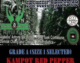Kampot Pepper (Haktha Farm) 4 Oz