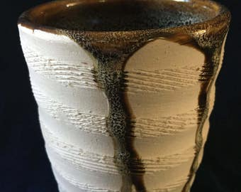 White Textured Cups