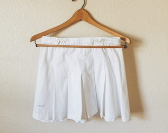 Vintage White Tennis Skirt