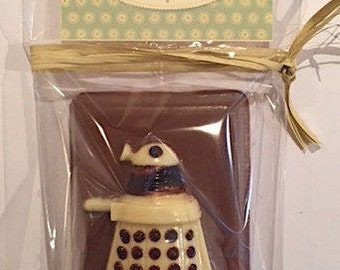 Milk chocolate Dalek