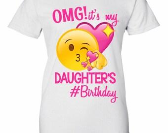 Emoji Shirt - Mom Emoji Birthday Shirt