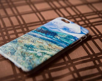 Vincent Van Gogh - Green Wheat Field with Cypress - Iphone case 6/6s - Artsy Gift