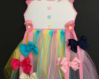 Hanging Tutu Hair Bow Holder