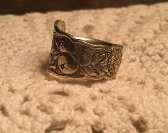 World's Fair 1893 Spoon Ring