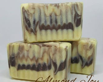 Almond Joy Handcrafted Soap